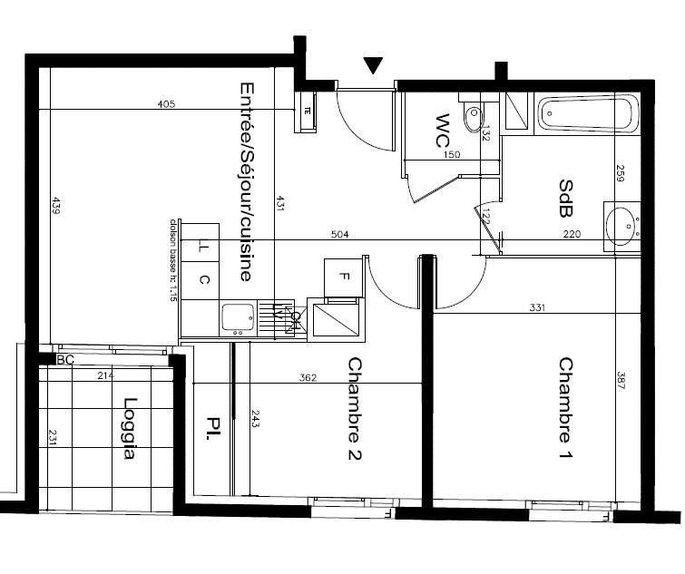 Offres programmes neufs appartement type 3 de 54m for Garage ad oullins